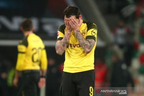 Dortmund derita kekalahan kedua, tersungkur 1-2 di markas Augsburg
